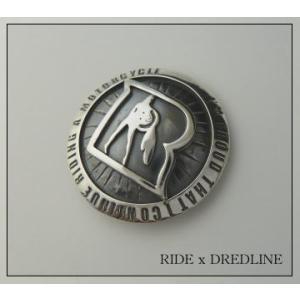 東本昌平RIDEライドxDREDLINEドレッドライン限定コラボモデルシルバーコンチョ silver925|dredline
