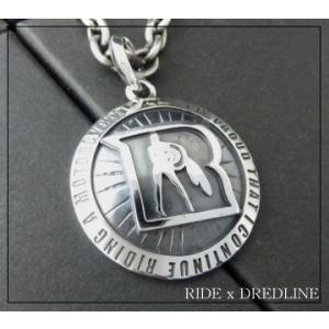 東本昌平RIDEライドxDREDLINEドレッドライン限定コラボモデルシルバーペンダントネックレス silver925|dredline