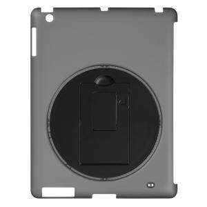 グリーンハウス iPad2/3用 回転式スタンドケース ブラック GH-CA-IPADRK dresma