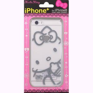 藤本電業 iPhone 6専用ケース iPhone+ ハローキティ(大) J-iP6-KP01|dresma