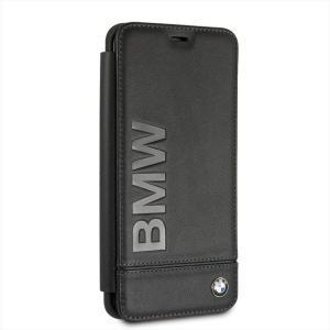 Samusung Galaxy S9+ サムスン ギャラクシー S9プラス 用 手帳型 ケース カバー BMW ビーエムダブリュー ロゴ 本革 ブラック エアージェイ BMFLBKS9LLLSB|dresma
