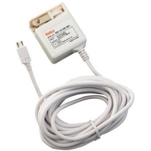 ブライトンネット 3m Cable AC Adaptor for Smart Phoneスマートフォン用 3mケーブルACアダプタ BM-AC3M/WH dresma