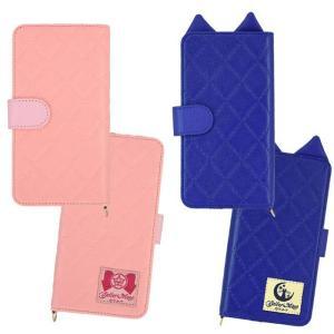 汎用型 手帳型ケース カバー 美少女戦士セーラームーン マルチフリップカバー M+サイズ 汎用手帳型 スマートフォンケース マルチケース|dresma