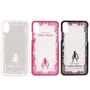 (予約)iPhone XR 対応 iPhoneXR ケース カバー ハードケース 美少女戦士セーラームーン キャラクタージャケット クリアタイプ|dresma