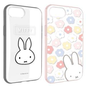 iPhone8/7/6s/6 対応 ケース カバー ミッフィー IIIIfit CLEAR イーフィットクリア ハイブリッドケース Miffy ブルーナ dresma