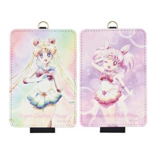 パスケース カードケース 定期入れ ICカードケース 劇場版 美少女戦士セーラームーンEternal ICカードケース|dresma