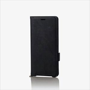 Xperia XZ3 SO-01L SOV39 SoftBank ソフトレザーカバー 磁石付 エレコム PM-XZ3PLFY|dresma