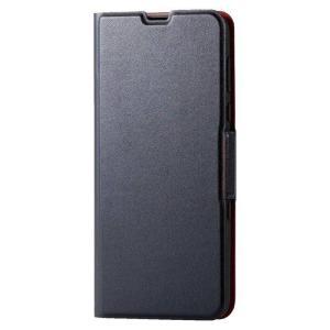 AQUOS R3 SH-04L SHV44 ケース カバー アクオス アール スリー ソフトレザーケース 薄型 磁石付 エレコム PM-AQR3PLFU|dresma