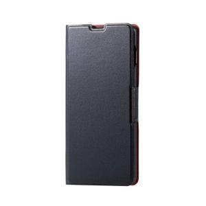 Galaxy S10+ SC-04L SCV42 ケース カバー ギャラクシー エス テン プラス ソフトレザーケース 薄型 磁石付 エレコム PM-GS10PPLFU|dresma