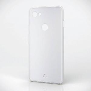 Google Pixel 3a XL グーグルピクセル3aXL ケース カバー ソフトケース 極み 極薄 ストラップホール付き クリア エレコム PM-GPL3AXUCTCR|dresma