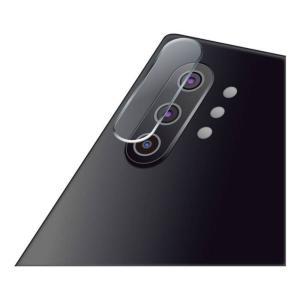 Galaxy Note10+用 保護フィルム カメラレンズフィルム ガラスコート 高硬度9H 衝撃吸収 指紋防止 エレコム PM-GN10PFLLNGLP|dresma