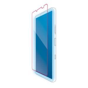 Xperia 10 III 液晶保護ガラス 平面保護 BLC 高透明 指紋防止 エレコム PM-X213FLGGBL|dresma