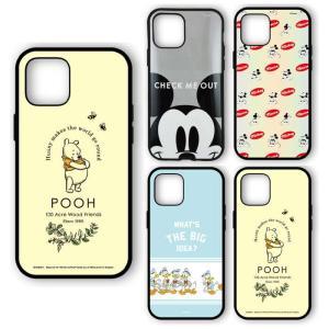 iPhone12 iPhone12Pro 対応 6.1インチ ケース  IIIIfit イーフィット ディズニーキャラクター Disney ハイブリッドケース|dresma