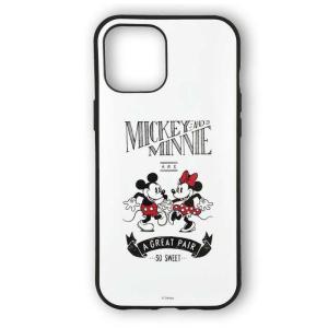 iPhone12 Pro Max 対応 6.7インチ ケース  IIIIfit イーフィット ディズニーキャラクター ミッキーマウス Disney ハイブリッドケース|dresma