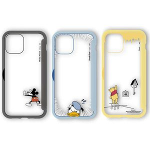 iPhone12mini 対応 iPhone 12 mini 5.4インチ ケース SHOWCASE+ 扉タイプ クリアケース ディズニーキャラクター Disney 背面扉|dresma