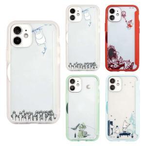 iPhone12mini 対応 iPhone 12 mini 5.4インチ ケース カバー MOOMIN ムーミン SHOWCASE+ スマートフォンケース|dresma
