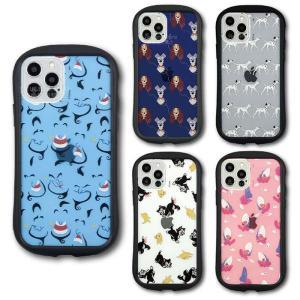 iPhone12 iPhone12Pro 対応 6.1インチ ケース カバー ディズニーキャラクター ハイブリッドクリアケース Disney|dresma