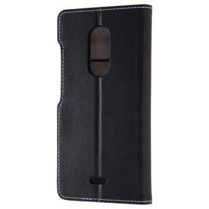 ZTE Blade V580 ブレイドV580 ケース/カバー 手帳型ケース シンプル ブラック レイアウト RT-ZBV58LBC6/B|dresma