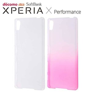 Xperia X Performance SO-04H/SOV33 エクスペリアXパフォーマンス ケース/カバー ハードケース 極薄 レイアウト RT-RXPXPTC2|dresma