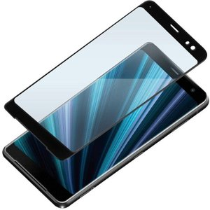 Xperia XZ3 ( SO-01L ・ SOV39 ) 用 液晶保護 ガラス フィルム 3D 液晶 全面 保護 ガラス ブルーライト低減 PGA PG-XZ3GL09|dresma