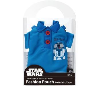 PGA スターウォーズファッションポーチ ポロシャツタイプ R2-D2 PG-DAS327R2|dresma