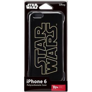 PGA STARWARS iPhone6用ハードケース 金箔押 SWロゴ PG-DCS920SW dresma