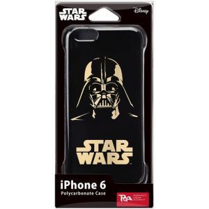 PGA STARWARS iPhone6用ハードケース 金箔押 ダースベイダー PG-DCS921DV dresma