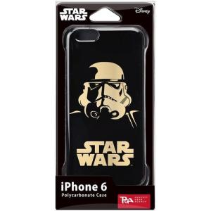 PGA STARWARS iPhone6用ハードケース 金箔押 ストームトルーパー PG-DCS922ST dresma