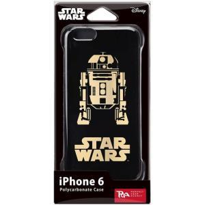 PGA STARWARS iPhone6用ハードケース 金箔押 R2-D2 PG-DCS923R2 dresma