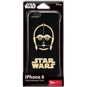 PGA STARWARS iPhone6用ハードケース 金箔押 C-3PO PG-DCS924C3 dresma