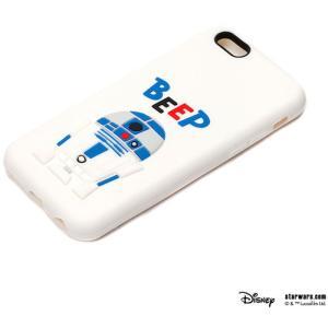 スターウォーズiPhone6S/6用シリコン3Dソフトケース R2-D2 PGA PG-DCS073R2|dresma