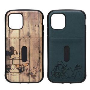 iPhone 11 Pro 5.8インチ iPhone11Pro 対応 ケース カバー ディズニーキャラクター タフポケットケース 耐衝撃 耐振動 ミッキー ドナルド Disney|dresma