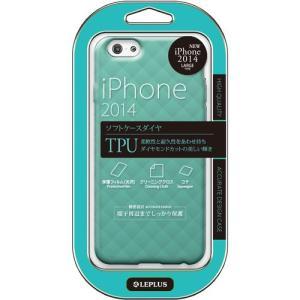 値下 LEPLUS iPhone6s Plus/iPhone6 Plus用 TPU DIA TPUケース エメラルドグリーン LP-IP65TDGR dresma