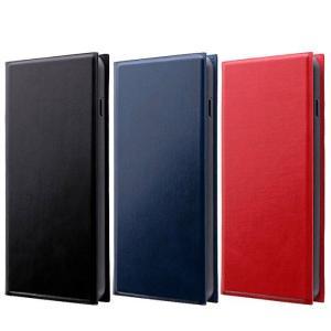 Galaxy S10 対応 SC-03L SCV41 ケース カバー 薄型手帳型ケース PRIME 二つ折り 手帳型 ビジネス スリムタイプ LEPLUS|dresma