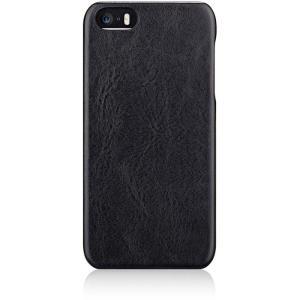 iPhoneSE/5s/5 アイフォンSE ケース/カバー NUNO バックケース ブラック トリニティ TR-FCIP16E-NBK|dresma