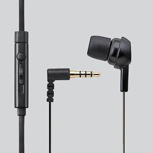 エレコム スマートフォン用モノラルヘッドホンマイク/ブラック EHP-MC3520BK|dresma