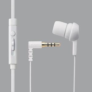 エレコム スマートフォン用モノラルヘッドホンマイク/ホワイト EHP-MC3520WH|dresma