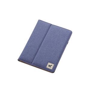 エレコム 7.0〜8.4インチ汎用タブレットケース (ファブリック) ブルー TB-08FCHBU|dresma