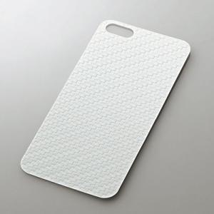 iPhoneSE/5s/5c/5 アイフォンSE/5s/5c/5 保護フィルム 背面フィルム カーボンホワイト  エレコム PS-A12BFD02|dresma