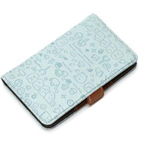 スマートフォン汎用 マルチフリップカバーSサイズ(すみっコぐらし/ナチュラル) PGA YY01304|dresma