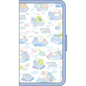 iPhoneX 用 手帳型ケース フリップカバー すみっコぐらし/しろくまのともだち PGA YY02109|dresma