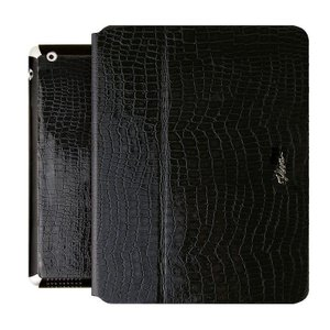 VIVA MADRID Viva Modaコレクション Ardiente アテンデ Serpiente Black for iPad Air PDA-ASPBLK|dresma