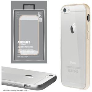 値下 Uniq iPhone6/Aircraft Clear/Elegant Gold(側面:アルミニウムバンパー)(背面:TPU) IP6HYBACRCGLD|dresma