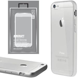値下 Uniq iPhone6/Aircraft Clear/Ravishing Silver(側面:アルミニウムバンパー)(背面:TPU) IP6HYBACRCSIL|dresma
