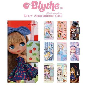 FREETEL 手帳型 ケース カバー   ブライス Blythe ドレスマ TH-FREETEL-BLT-VB dresma