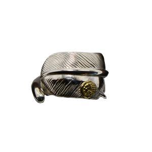 インディアン×TADY&KINGコラボシリーズ フェザーリングGPインディアン itk-004 シルバー925 リング 指輪 メンズ アクセサリー シルバーリング|dress-r