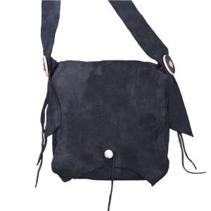 タディアンドキング TADY&KING ゴローズ魂継承 特注アイテム ディアスキンショルダーバッグ 3 ブラック バッグ レザーバッグ 本革 鞄 メンズ ブランド dress-r