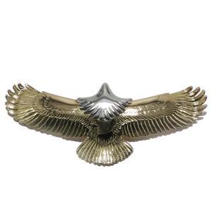 タディアンドキング TADY&KING ゴローズ魂継承 中イーグル 全金 頭プラチナ メンズ レディース eagle イーグル ペンダント K18 イーグルネックレス 18k dress-r