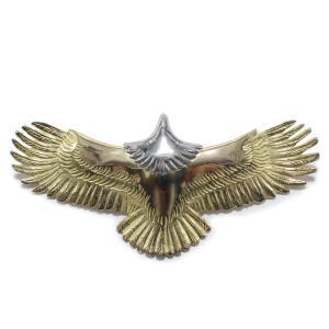 タディアンドキング TADY&KING ゴローズ魂継承 大イーグル 全金 頭プラチナ メンズ レディース eagle イーグル ペンダント K18 イーグルネックレス 18k dress-r