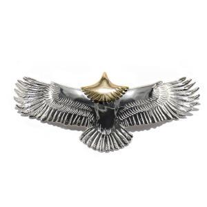 tady&king タディアンドキング goro's ゴローズ魂継承 特大イーグル頭金 tkh027 シルバー925 ペンダントトップ ネックレス メンズ eagle ペンダント dress-r